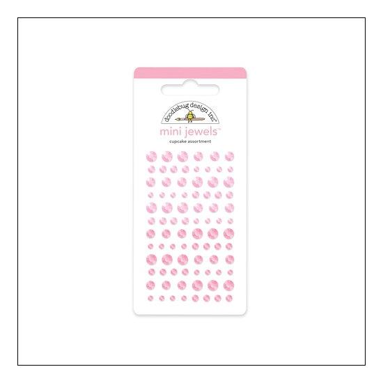 Doodlebug Mini Jewels Cupcake Assortment