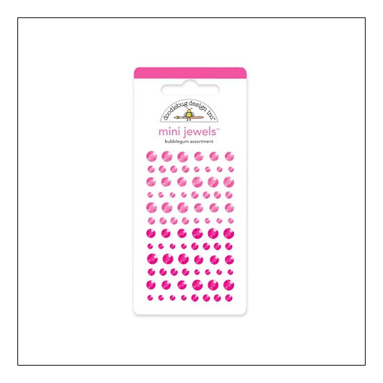 Doodlebug Mini Jewels Bubblegum Assortment
