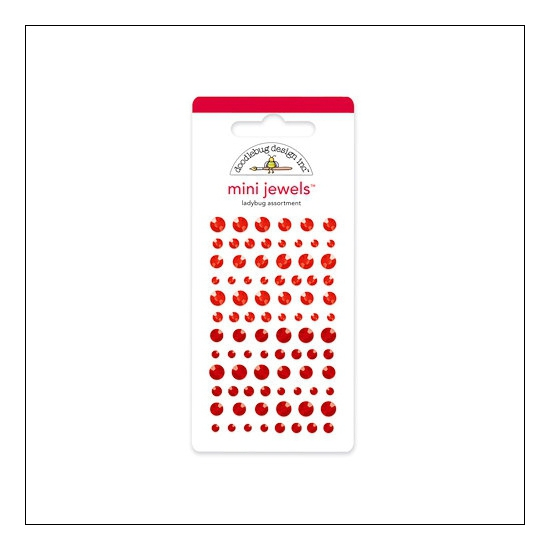 Doodlebug Mini Jewels Ladybug Assortment