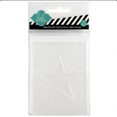 Heidi Swapp Mini Embossing Folder Star
