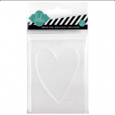 Heidi Swapp Mini Embossing Folder Heart