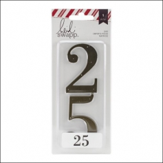 Heidi Swapp Die Numbers 25 Oh What Fun Collection