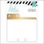 Heidi Swapp Memorydex Alphabet Tabs Wanderlust Collection