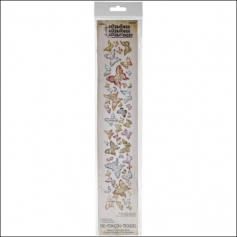Sizzix Tim Holtz Alterations Die Sizzlits Decorative Strip Butterfly Frenzy