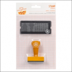 American Crafts Calendar Stamp Set Lovely Yes Please Collection by Amy Tangerine