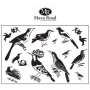 Maya Road Ornate Feathered Friends Clear Stamps