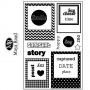 Maya Road You've Been Framed Clear Stamps