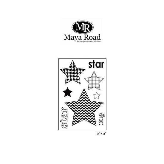 Maya Road My Star Singleton Clear Stamps