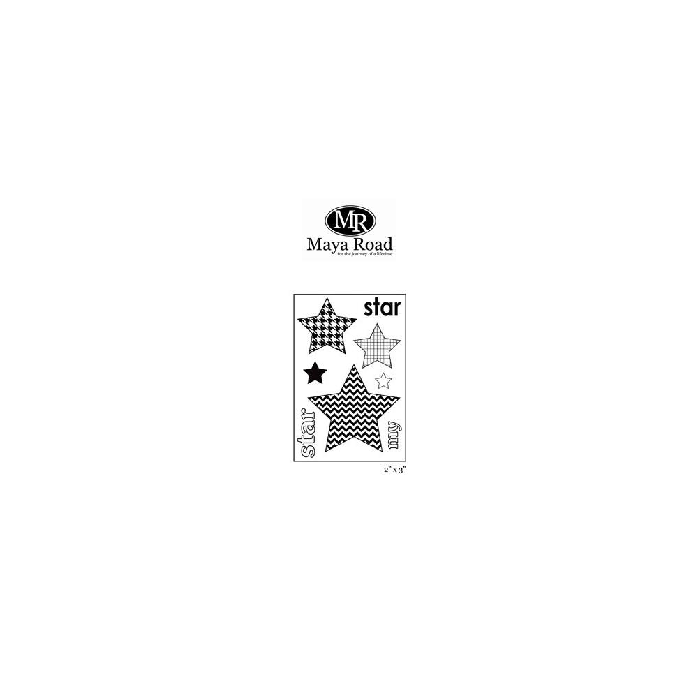 Maya Road My Star Singleton Clear Stamps