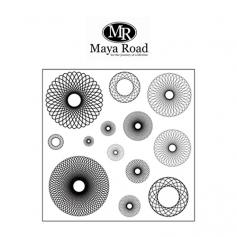 Maya Road Geometric Designs Clear Stamps