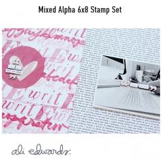 Ali Edwards Celebrate Clear Stamps