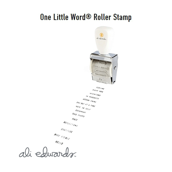 Ali Edwards One Little Word Roller Stamp