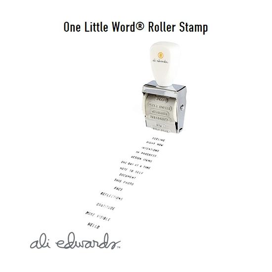 Ali Edwards One Little Word Roller Stamp