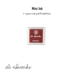 Ali Edwards Mini Block Ink Pad Pendleton