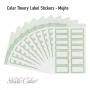 Studio Calico Color Theory Label Stickers Mojito