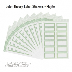 Studio Calico Color Theory Label Stickers Mojito