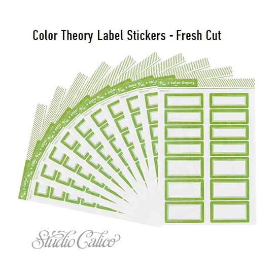 Studio Calico Color Theory Label Stickers Fresh Cut