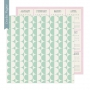 Crate Paper Patterned Paper Sheet Weekend Sunny Days Collection by Maggie Holmes