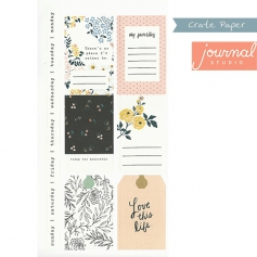 Crate Paper Sticker Sheet Journal Studio Collection