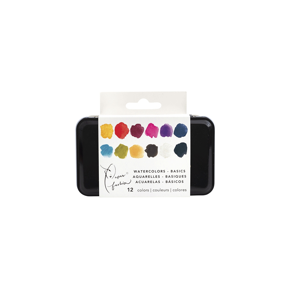 Paper Fashion Paint Watercolors Basics