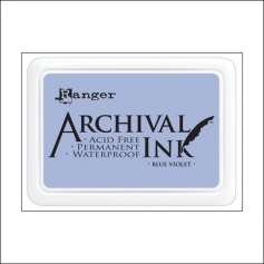 Ranger Archival Ink Pad Blue Violet