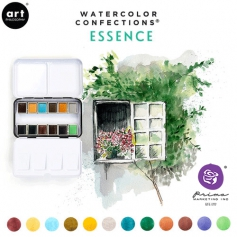 Prima Marketing Art Philosophy Watercolor Confections Essence