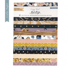 Crate Paper Patterned Paper Pad 6 x 8 inch Heritage Collection by Maggie Holmes