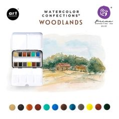 Prima Marketing Art Philosophy Watercolor Confections Woodlands