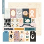 Crate Paper Patterned Paper Sheet Recollection Heritage Collection by Maggie Holmes