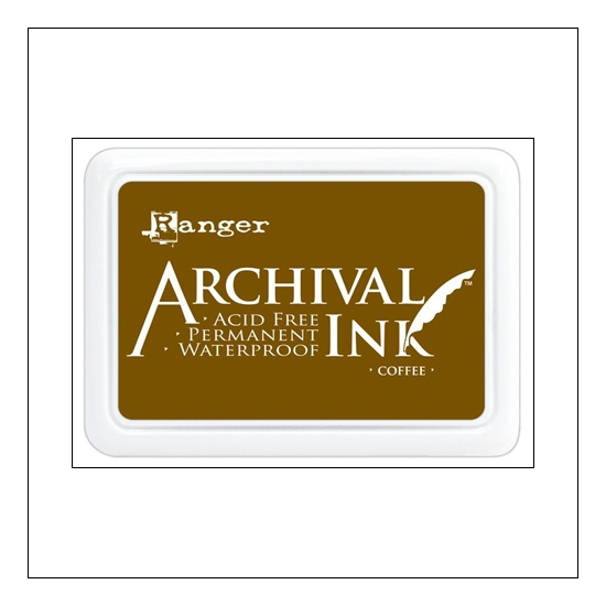 Ranger Archival Ink Pad Coffee