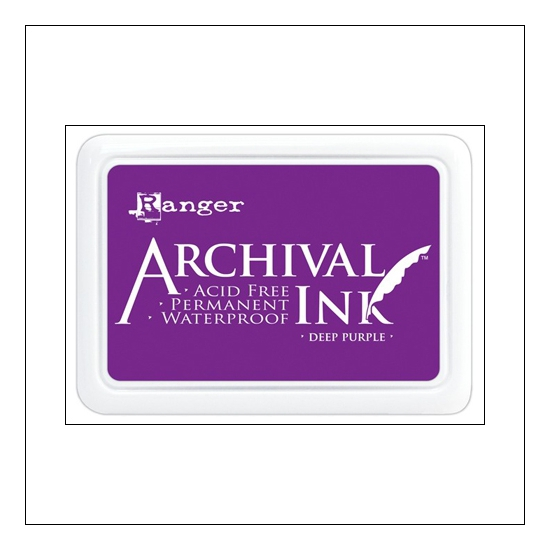 Ranger Archival Ink Pad Deep Purple