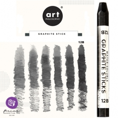 Prima Marketing Art Philosophy Water-Soluble Graphite Stick Softness 12B