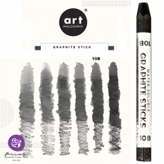 Prima Marketing Art Philosophy Water-Soluble Graphite Stick Softness 10B