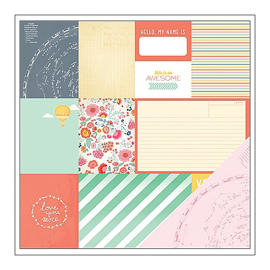 American Crafts Paper This and That Lucky Charm Collection by Dear Lizzy