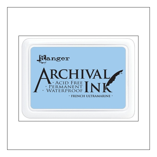 Ranger Archival Ink Pad French Ultramarine