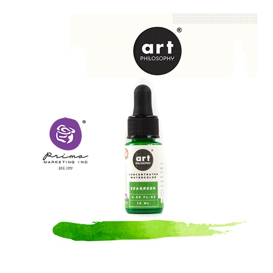 Prima Marketing Art Philosophy Concentrated Watercolor 0.5 fl. oz Wood