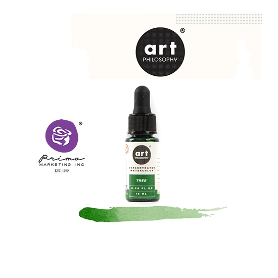 Prima Marketing Art Philosophy Concentrated Watercolor 0.5 fl. oz | 15 ml Tree