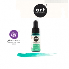 Prima Marketing Art Philosophy Concentrated Watercolor 0.5 fl. oz | 15 ml Emerald