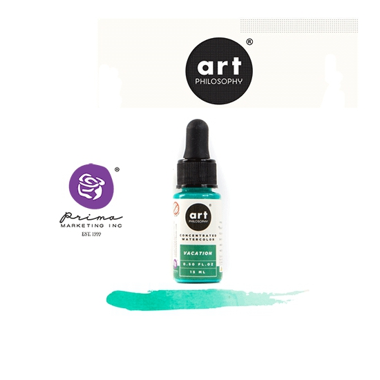 Prima Marketing Art Philosophy Concentrated Watercolor 0.5 fl. oz | 15 ml Vacation