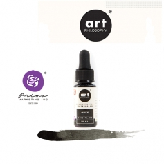 Prima Marketing Art Philosophy Concentrated Watercolor 0.5 fl. oz | 15 ml Onyx