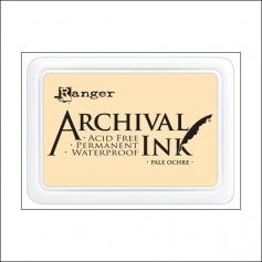 Ranger Archival Ink Pad Pale Ochre