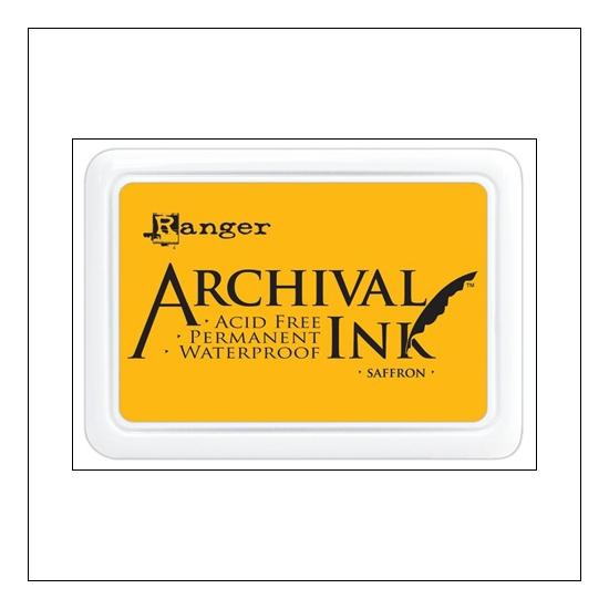 Ranger Archival Ink Pad Saffron