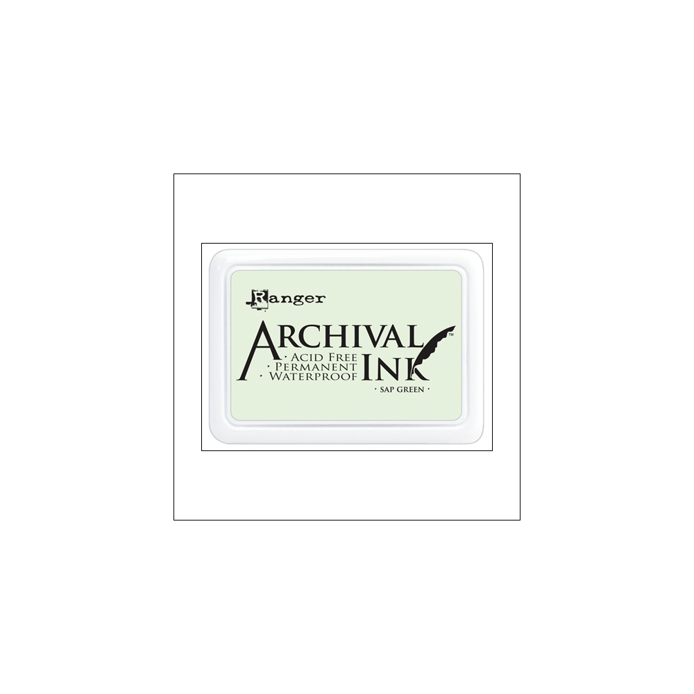 Ranger Archival Ink Pad Sap Green