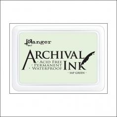 Ranger Archival Ink Pad Sap Green
