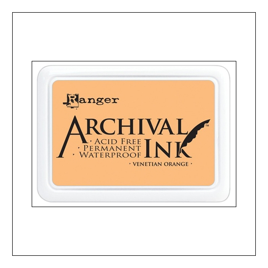 Ranger Archival Ink Pad Venetian Orange