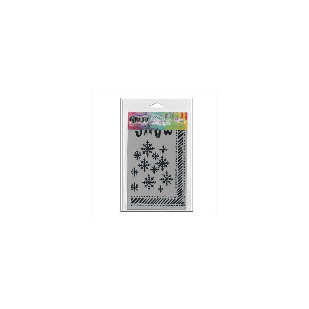 Ranger Stencil Let It Snow Dylussions by Dyan Reaveley