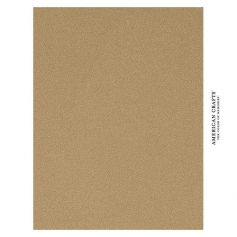 American Crafts Pow Gold Glitter Paper 8.5 x 11