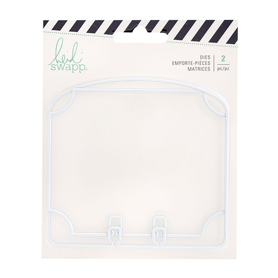 Heidi Swapp Memorydex Dividers Oval Cutting Dies Wanderlust Collection