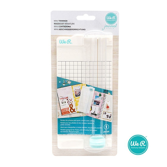 We R Memory Keepers Mini Paper Trimmer Journal Studio Collection