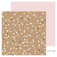 Crate Paper Specialty Paper Sheet Create with Foil Accents Craft Market Collection